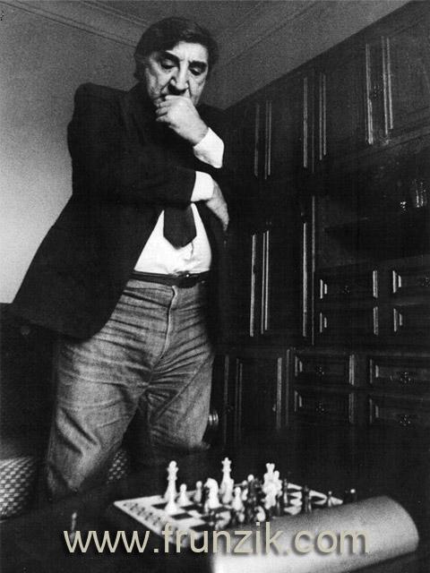 Фрунзик Мкртчян и его первый шахматный компьютер
